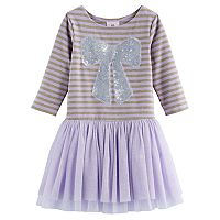 Girls 4-6x Marmellata Classics Sequin Bow Dress