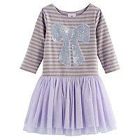 Girls 4-6x Marmellata Classics Sequin Bow Dress