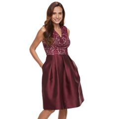 Petite Chaya Lace Bodice Dress