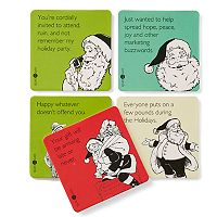 Someecards 6-pack Holiday Coaster Set