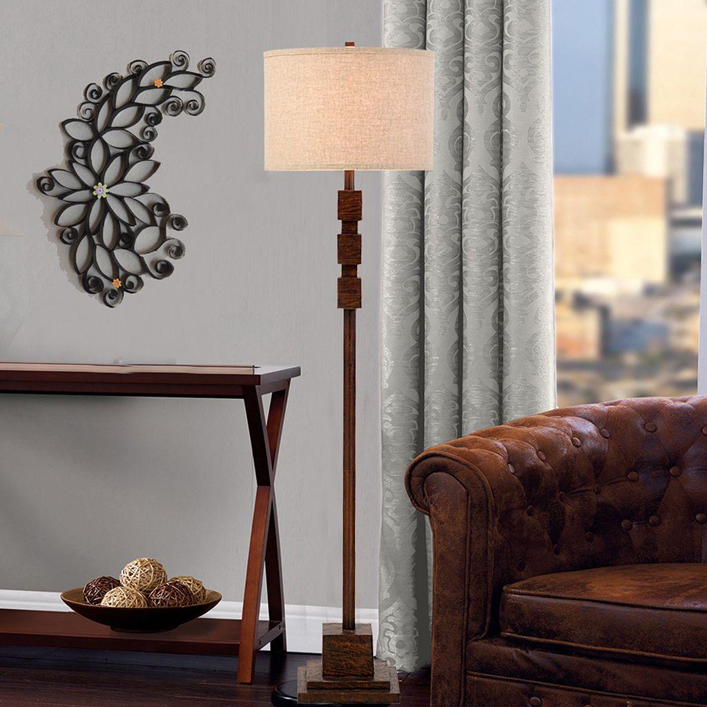 Catalina Lighting Traditional Rustic Floor Lamp