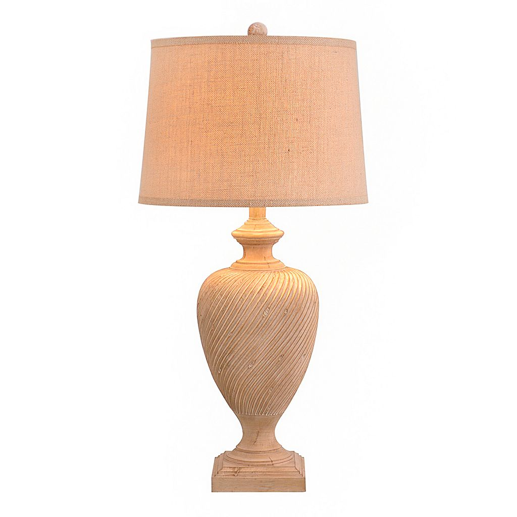 Catalina Lighting Textured Contemporary Table Lamp