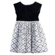 Girls 4-6X Marmellata Classics Printed Dress