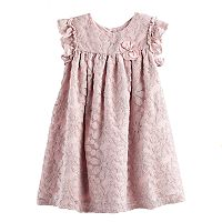 Girls 4-6X Marmellata Classics Floral Lace Shift Dress