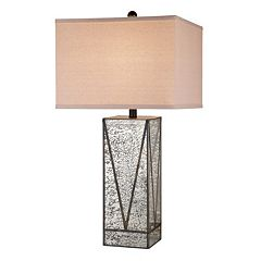 Catalina Lighting Mercury Glass Table Lamp