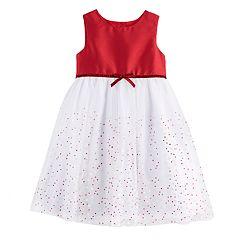 Girls 4-6X Marmellata Classics Glitter Dot Tulle Dress
