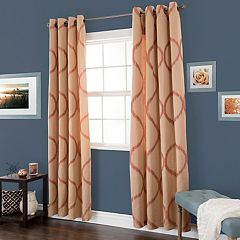 Portsmouth Home Metallic Window Curtain Set