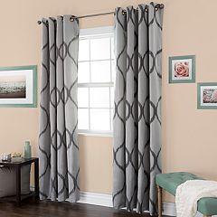 Portsmouth Home Metallic Window Curtain Set
