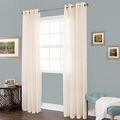 Portsmouth Home Mia Jacquard Window Curtain