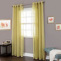 Portsmouth Home Mia Jacquard Window Curtain