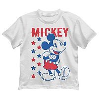 Disney's Mickey Mouse Boys 4-7 Patriotic Graphic Tee