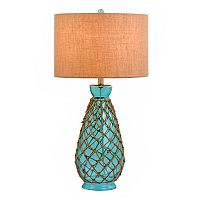 Catalina Lighting Coastal Rope Table Lamp