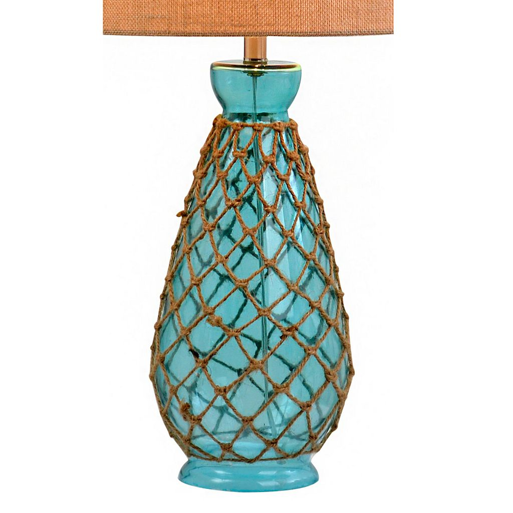 Catalina Lighting Coastal Rope Table Lamp