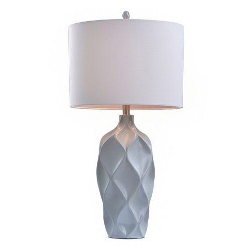 Catalina Lighting Contemporary Gray Table Lamp
