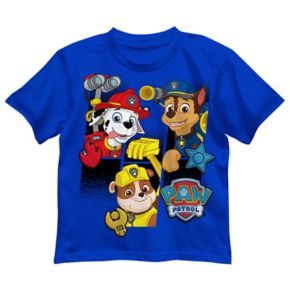 Boys 4-7 Paw Patrol Marshall, Chase & Rubble Graphic Tee
