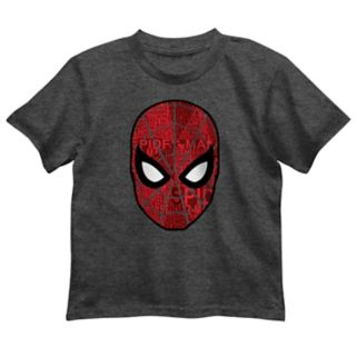 Boys 4-7 Marvel Spider-Man Face Graphic Tee