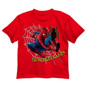 Boys 4-7 Marvel Spider-Man Web Graphic Tee