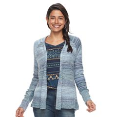 Petite SONOMA Goods for Life™ Ribbed Cardigan