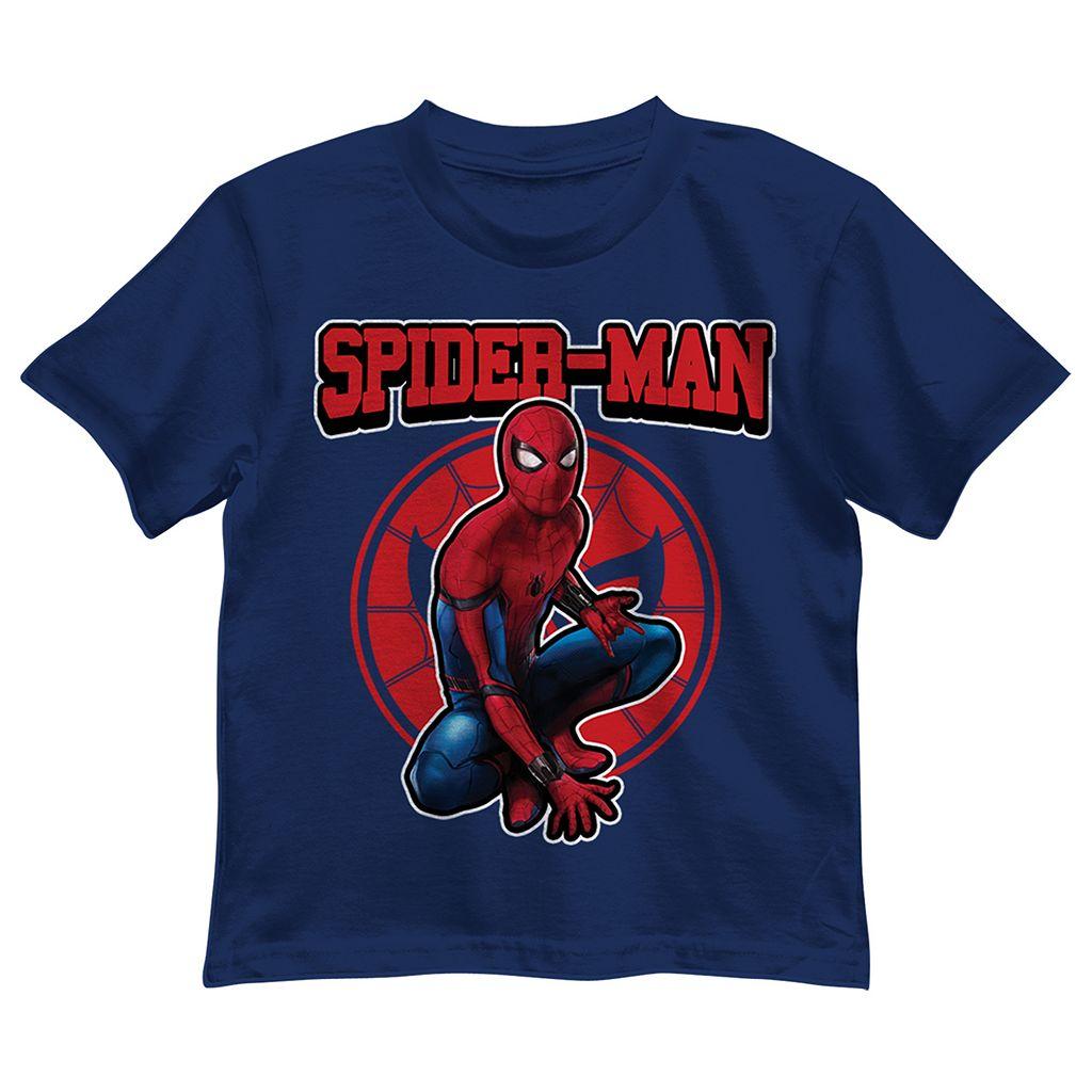 Boys 4-7 Marvel Spider-Man Sitting Graphic Tee