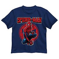 Boys 4-7 Marvel Spider-Man Sitting Graphic Tee