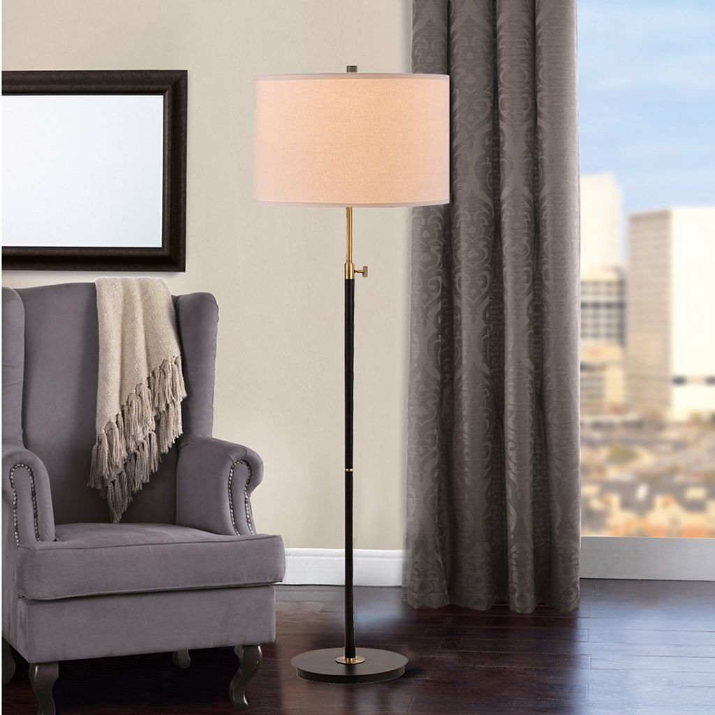 Catalina Lighting Adjustable Mid-Century Modern Floor Lamp