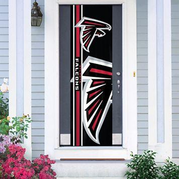 Atlanta Falcons Two-Sided Door Wrap