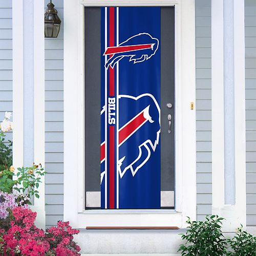 Buffalo Bills Two-Sided Door Wrap