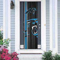Carolina Panthers Two-Sided Door Wrap
