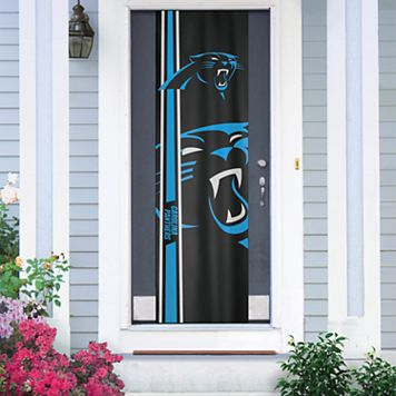 Carolina Panthers Two-Sided Door Wrap