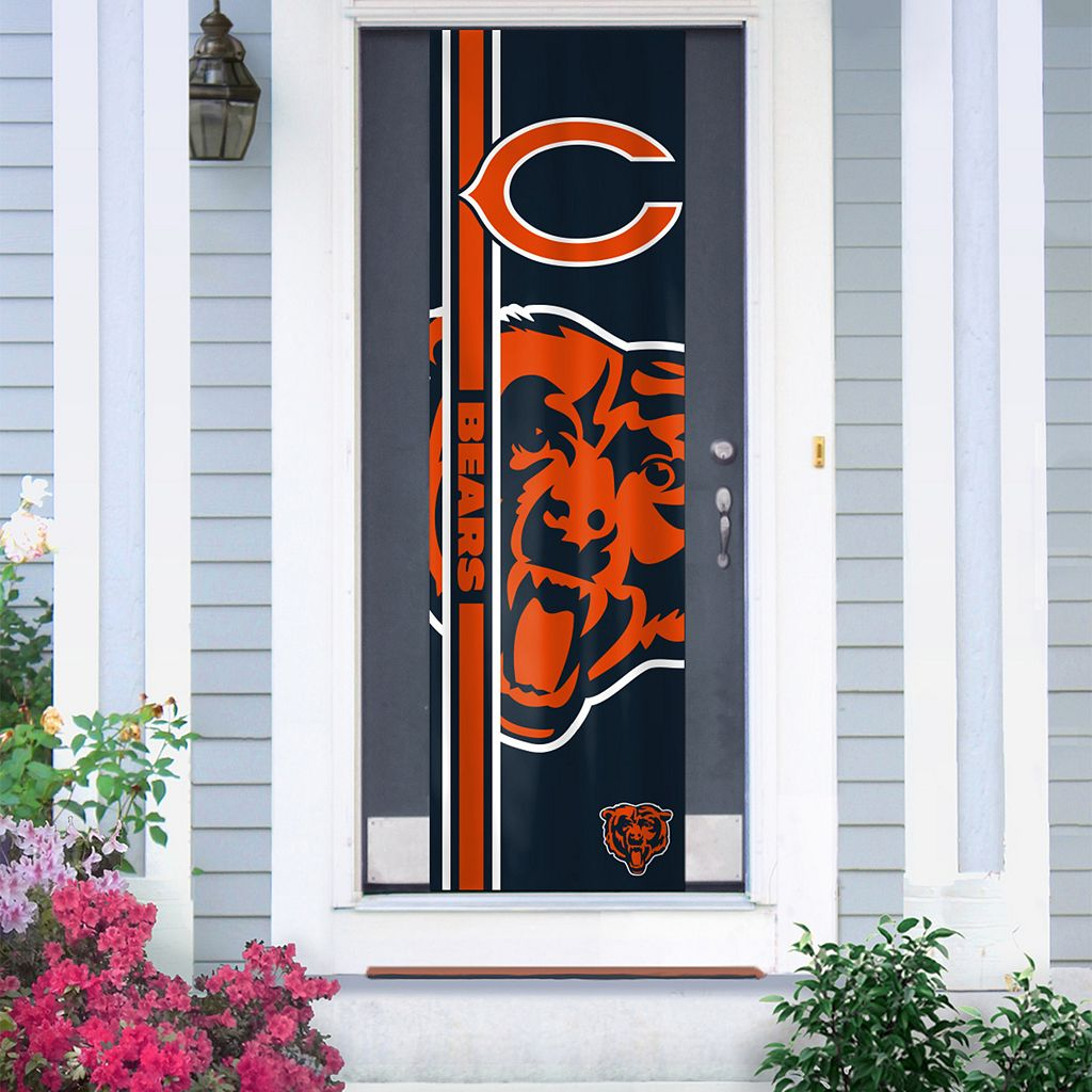 Chicago Bears Two-Sided Door Wrap