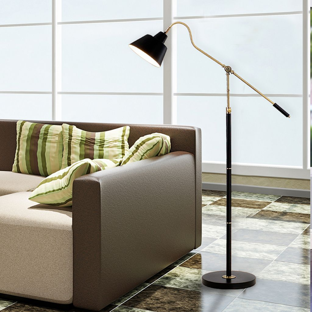 Catalina Lighting Adjustable Traditional Floor Lamp