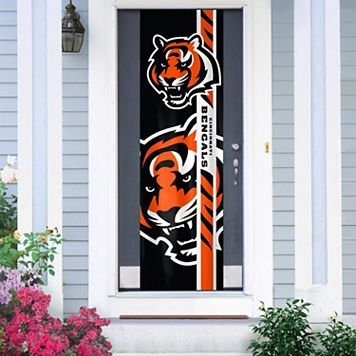Cincinnati Bengals Two-Sided Door Wrap
