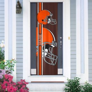 Cleveland Browns Two-Sided Door Wrap
