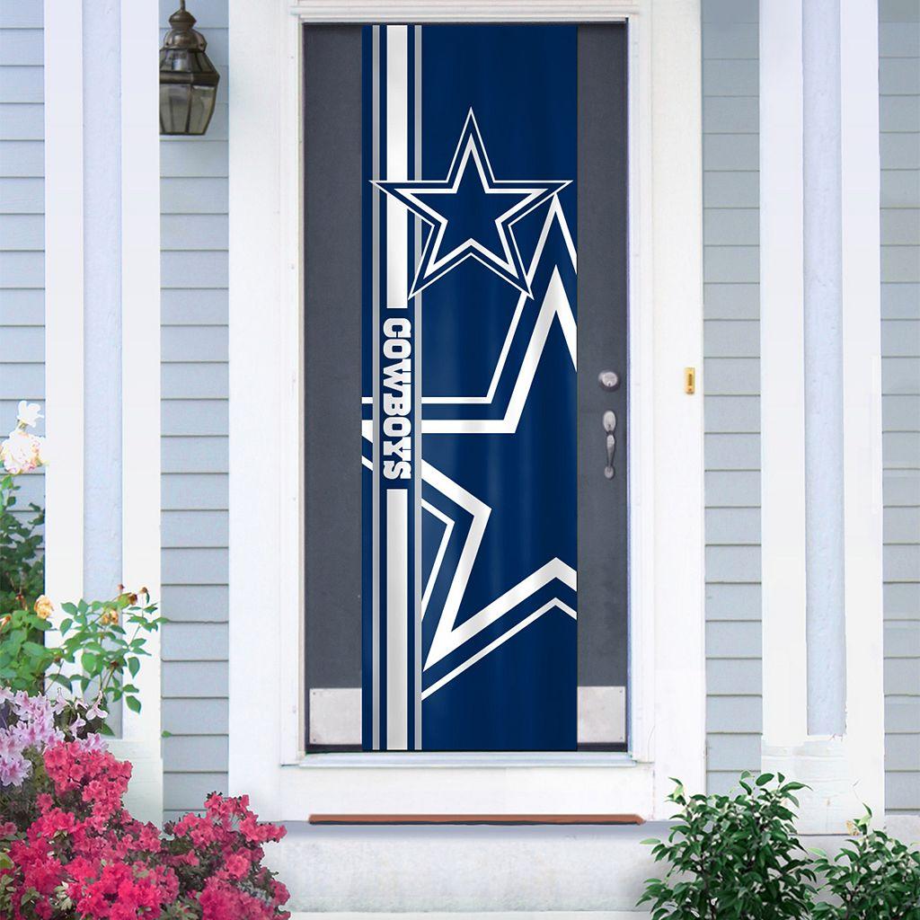 Dallas Cowboys Two-Sided Door Wrap