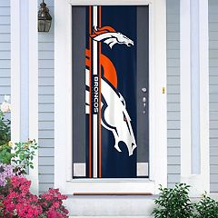 Denver Broncos Two-Sided Door Wrap