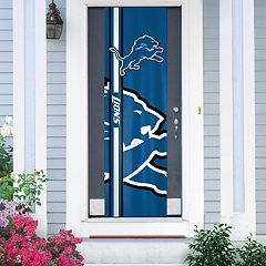 Detroit Lions Two-Sided Door Wrap