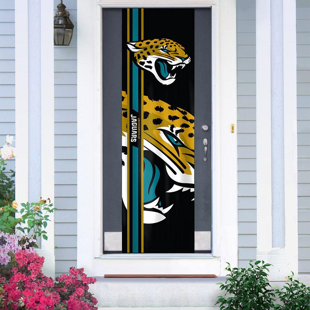 Jacksonville Jaguars Two-Sided Door Wrap