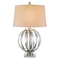 Catalina Lighting Metal Orb Table Lamp