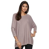 Women's Jennifer Lopez Ribbed Caftan Sweater