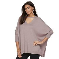 Women's Jennifer Lopez Choker Neck Caftan Sweater