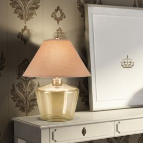 Catalina Lighting Opaque Glass Table Lamp
