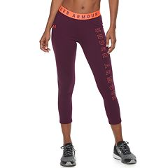 Women's Under Armour Favorite Midrise Graphic Capri Leggings