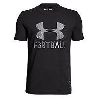 Boys 8-20 Under Armour Football Lockup Tee