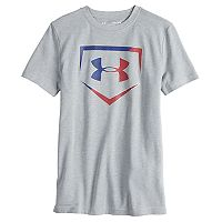 Boys 8-20 Under Armour Baseball Logo Tee