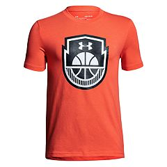 Boys 8-20 Under Armour Basketball Icon Tee