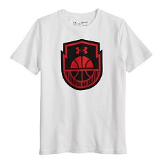Boys 8-20 Under Armour Basketball Icon Tee