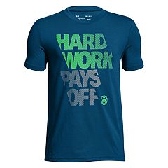 Boys 8-20 Under Armour 'Hard Work Pays Off' Tee