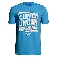 Boys 8-20 Under Armour Clutch Under Pressure Tee