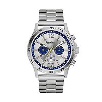 Caravelle New York By Bulova Men's Stainless Steel Chronograph Watch - 43A130
