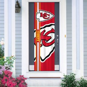 Kansas City Chiefs Two-Sided Door Wrap